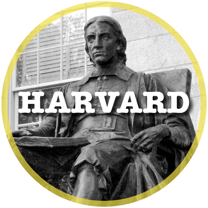 Harvard University Statue of John Harvard